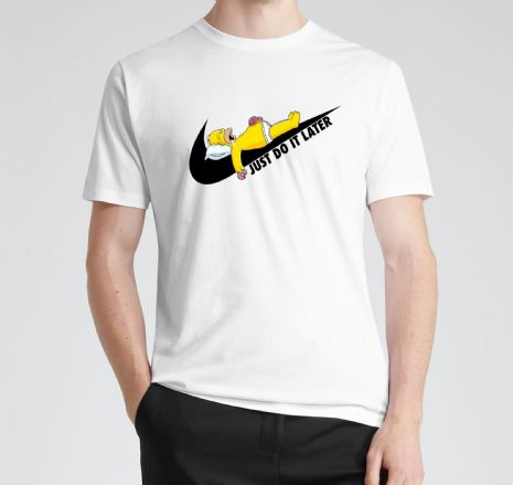 Just Do It Later Homer T-shirt